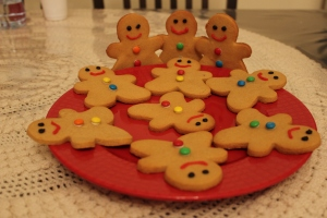 Step 7: Wait for them to cool and decorate. Aren't they handsome?
