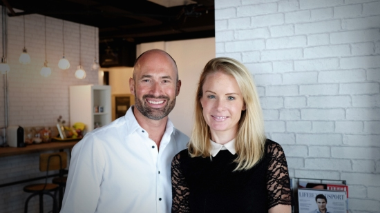 Louise Karim and David MacKenzie, Co-Founders of Mums@Work